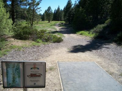 Lake of the Sky, Main course, Hole 7 Tee pad