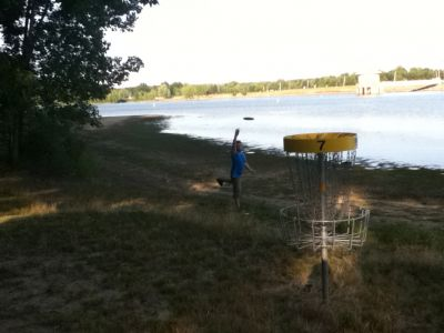 Mosquito Lake State Park, Main course, Hole 7 Putt