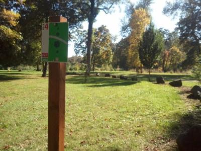Wennerberg Park, Main course, Hole 4 Tee pad