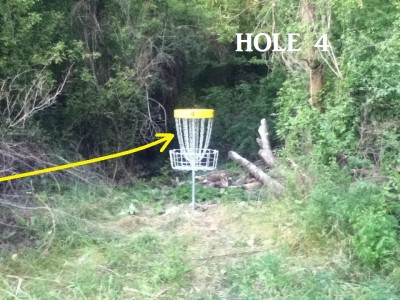 Von Baer Park, Blind Gully, Hole 4 Putt