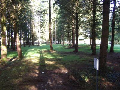 Nick Loutsis Park, Main course, Hole 9 Tee pad