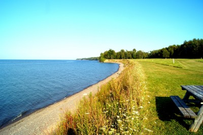 Lakeside Beach State Park, Shore Winds Blue, Hole 15