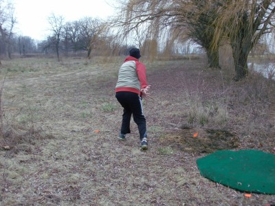 Belle Isle DGC, Main course, Hole 15 Long tee pad