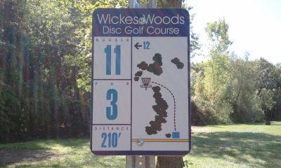 Wickes Woods, Main course, Hole 11 Long tee pad