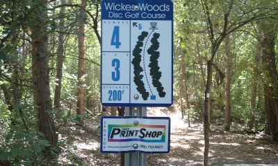 Wickes Woods, Main course, Hole 4 Long tee pad