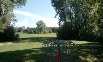 Wickes Woods, Main course, Hole 5 Reverse (back up the fairway)
