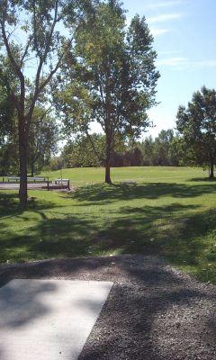 Wickes Woods, Main course, Hole 7 Tee pad