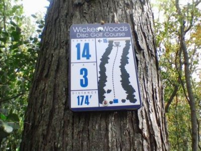 Wickes Woods, Main course, Hole 14