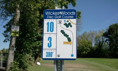 Wickes Woods, Main course, Hole 10 Long tee pad