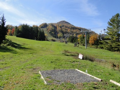 Hunter Mountain, Main course, Hole 1 Tee pad