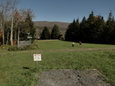 Hunter Mountain, Main course, Hole 3 Tee pad