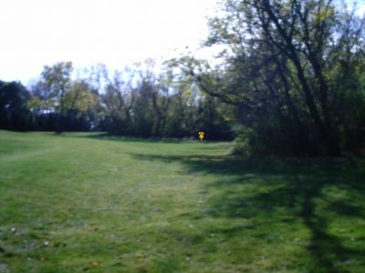 King Park, Main course, Hole 1 Tee pad