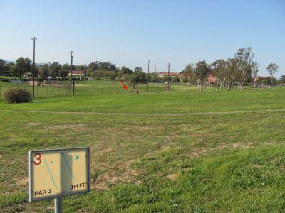 National/Johnson Field, Main course, Hole 3
