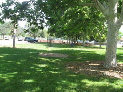 Carmichael Park, Main course, Hole 9 Putt