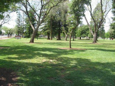 Carmichael Park, Main course, Hole 3 Tee pad