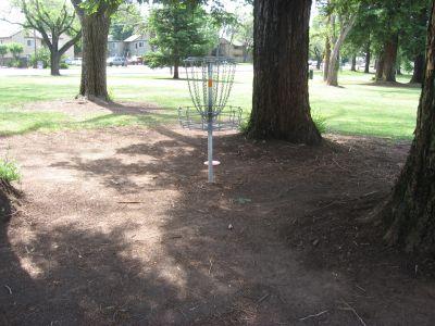 Carmichael Park, Main course, Hole 2 Putt