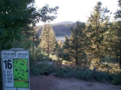 Truckee River Regional Park, Main course, Hole 16