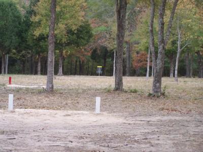 Cherry Creek Park, Main course, Hole 4 Long tee pad