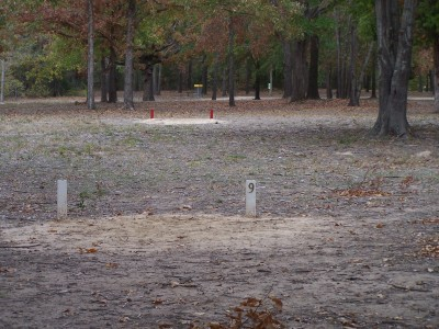 Cherry Creek Park, Main course, Hole 9 Long tee pad