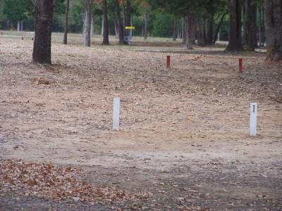 Cherry Creek Park, Main course, Hole 1 Long tee pad