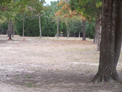 Cherry Creek Park, Main course, Hole 3 Long tee pad