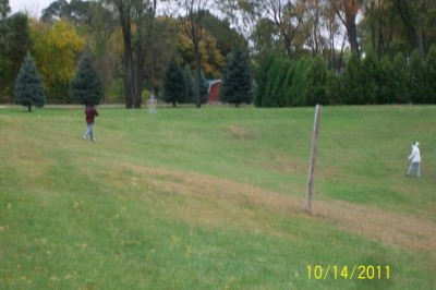 Rosewood Park, Main course, Hole 6 Tee pad