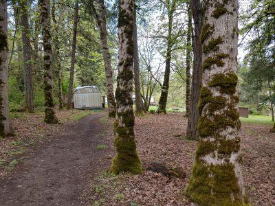 Dave Heider's Hike, Main course, Hole 2 Short approach