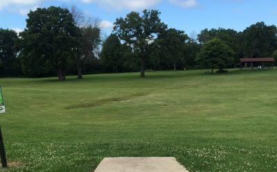Indian Oaks, Main course, Hole 15 Long tee pad