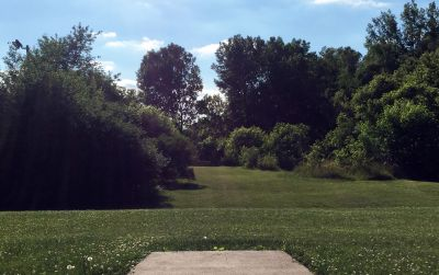 Indian Oaks, Main course, Hole 18 Long tee pad