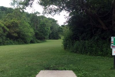 Indian Oaks, Main course, Hole 13 Long tee pad