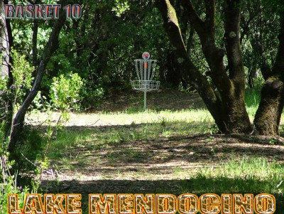 Lake Mendocino, South Course, Hole 10 Putt