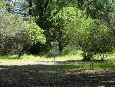 Lake Mendocino, South Course, Hole 3 Short approach