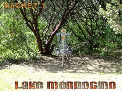 Lake Mendocino, South Course, Hole 1 Putt