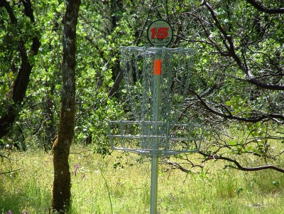 Lake Mendocino, South Course, Hole 15 Putt