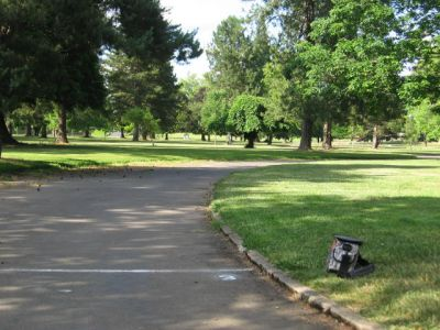 Oregon State Hospital, State Hospital Tone Course, Hole 3 Tee pad