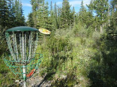 Redwood Meadows DGC, Main course, Hole 3 Putt