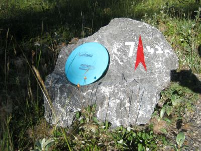 Redwood Meadows DGC, Main course, Hole 7 Putt