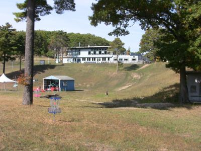Mt. Holiday, Carly's Playground, Hole 10 Reverse (back up the fairway)