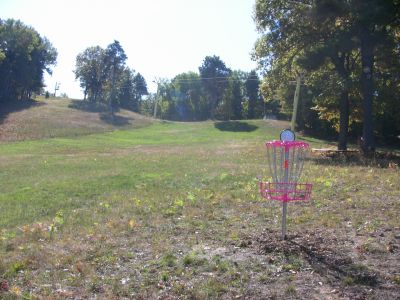 Mt. Holiday, Carly's Playground, Hole 9 Reverse (back up the fairway)