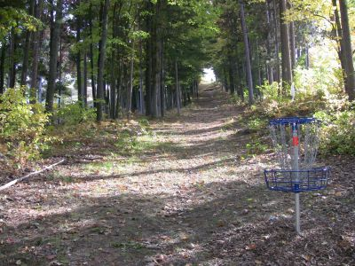 Mt. Holiday, Carly's Playground, Hole 18 Reverse (back up the fairway)