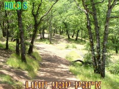 Low Gap Park, Main course, Hole 6 Tee pad