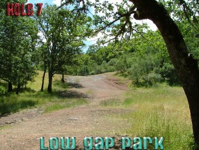 Low Gap Park, Main course, Hole 7 Tee pad