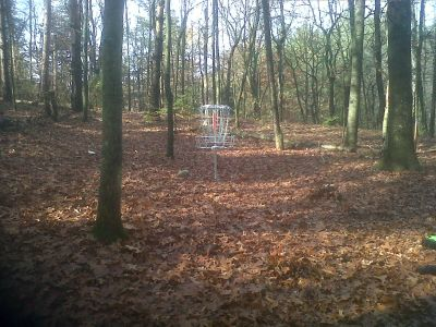 Bertha Brock County Park, Main course, Hole 1 Putt