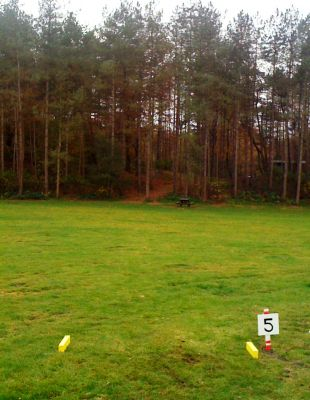 Het Doornse Gat, Main course, Hole 5 Tee pad