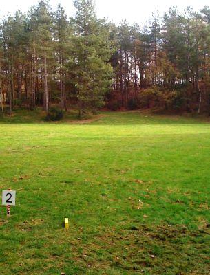 Het Doornse Gat, Main course, Hole 2 Tee pad