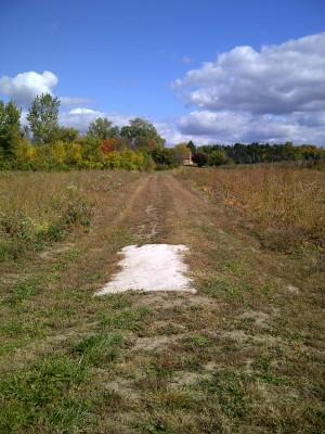 Tomahawk Park, Main course, Hole 18 Long tee pad