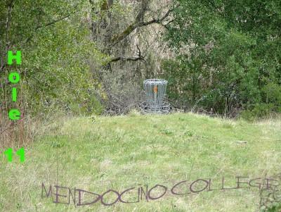 Mendocino College, Main course, Hole 11 Putt
