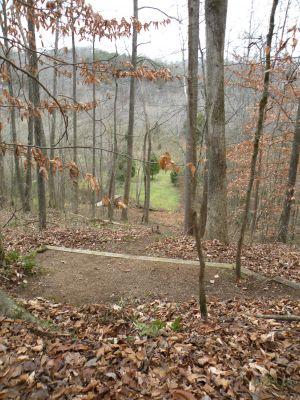 Creek's Edge, Main course, Hole 15 Tee pad