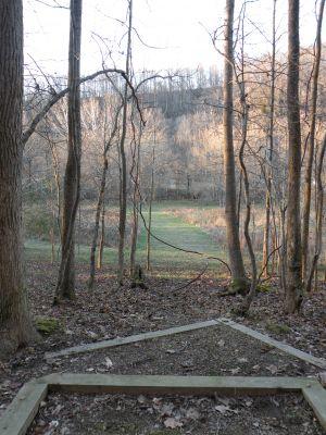 Creek's Edge, Main course, Hole 12 Tee pad