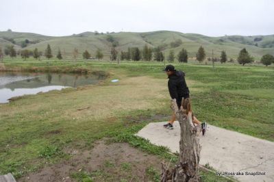 Lagoon Valley, Main course, Hole 6 Tee pad
